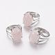 Anneaux de doigt à large bande de quartz rose naturel(X-RJEW-K224-A12)-3