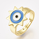 Adjustable Brass Finger Rings(RJEW-S044-057A)-1