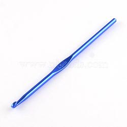 Crochets aléatoires en aluminium de couleur simple, une seule couleur par sac, broche: 4.5 mm; 148x4.5 mm(TOOL-R058-06)