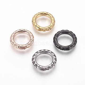 Mixed Color Ring Stainless Steel Clasps
