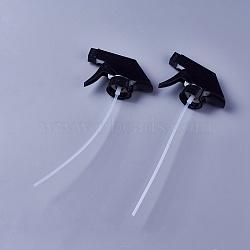 Plastic Spray Head, Mist Spray & Stream Sprayer Replacement Trigger Spray Tops, Black, 22.3x9.5x3.1cm(MRMJ-WH0056-19)