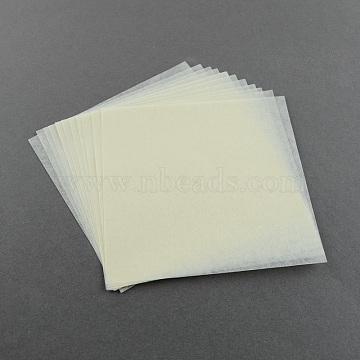 LightGoldenrodYellow Square Paper