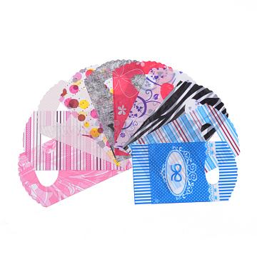 Sacs en plastique, Matériau PE, couleur mixte, 20x13 cm(T02FU073)