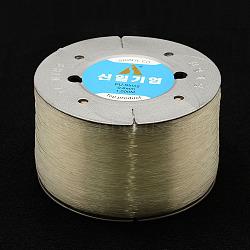 fil de cristal élastique coréen, effacer, 0.8 mm, 1000 m / rouleau(EC-P003-0.8mm-01)