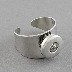 Платина латуни компоненты оснастки манжеты кольца, 19x14 мм; кнопки в 5x4 мм (X-KK-S087)