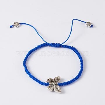Blue Nylon Bracelets