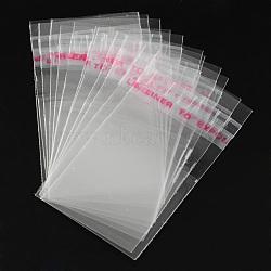 OPP мешки целлофана, прямоугольник, очистить, 5x3 см; односторонняя толщина: 0.035 мм; внутренняя мера: 3x3 см