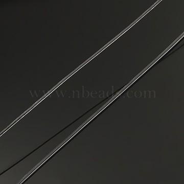 Korean Elastic Crystal Thread, Stretch Bracelet String, Round Beading Cord, Clear, 0.5mm, about 98.42 yards(90m)/roll(EW-L003-0.5mm-01)