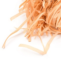 Raffia Crinkle Cut Paper Shred Filler, for Gift Wrapping & Easter Basket Filling, Sandy Brown, 26x0.25~0.26cm(DIY-B012-01)