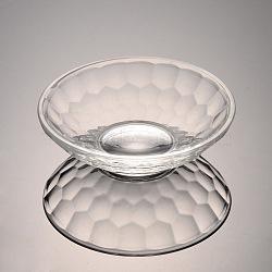 граненые стеклянные витрины, очистить, 95x28 mm(ODIS-O001-B01)