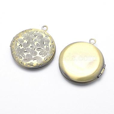 Brass Locket Pendants(X-KK-F717-41AB-NR)-2