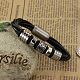 Leather Cord Bracelets(BJEW-N0008-089)-1