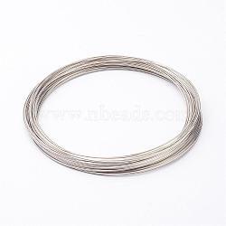 collier en acier au carbone fil de mémoire 11.5 cm, fil: calibre 18, 1.0 mm, 250 cercles(MW11.5cm-1)
