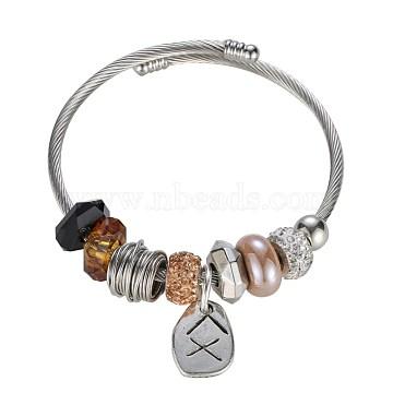Brown Glass Bracelets