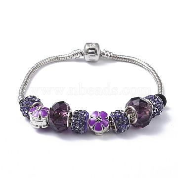 Purple Brass Bracelets