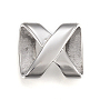 304 из нержавеющей стали слайд прелести, inifinity, нержавеющая сталь цвет, 17.5x15.5x5 mm, отверстия: 3.5x13 mm