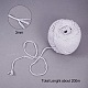 Cotton String Threads for Jewelry Making(OCOR-L039-A11-3mm)-2