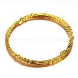 алюминиевая проволока, золотарник, 18 датчик, 1 mm, 10 м / рулон(AW-D009-1mm-10m-17)