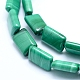 Natural Malachite Beads Strands(G-D0011-03-8x12mm)-3