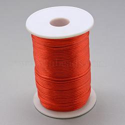 Cordon de polyester, rouge, 1.5 mm; environ 100 m/rouleau(OCOR-Q022-03)