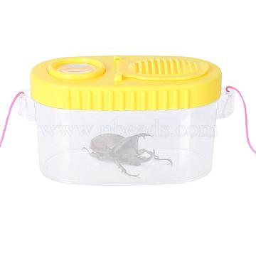 Yellow Plastic Magnifier