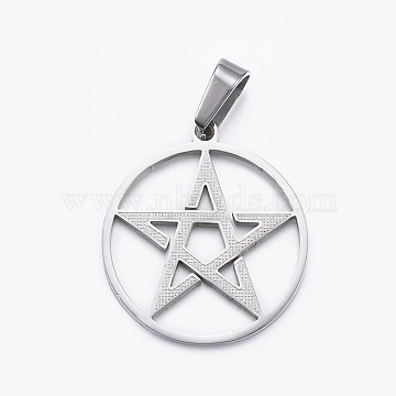 Stainless Steel Color Star Stainless Steel Pendants