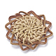 Handmade Reed Cane/Rattan Woven Pendants(X-WOVE-Q075-06)-2