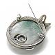 Sea Shell Brooch/Pendants(G-T101-68)-3