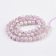 Natural Kunzite/Spodumene Beads Strands(G-F568-023-6mm)-2
