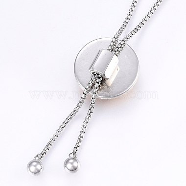 304 Stainless Steel Lariat Necklaces(NJEW-F221-01P-08)-3