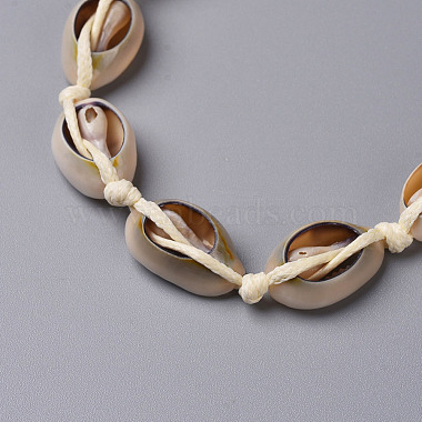 Cowrie Shell Choker Necklaces(X-NJEW-JN02388-01)-3