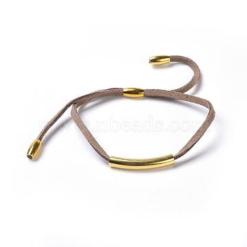 Camel Suede Bracelets
