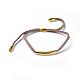 Adjustable Faux Suede Cord Bracelets(BJEW-JB04216-04)-1