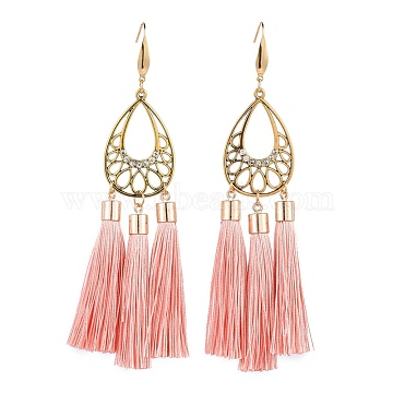 DarkSalmon Polyester Earrings