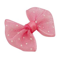 Бантик из лент , аксессуары для костюма, ярко-розовые, шириной около 20 мм, 23 мм длиной(X-DBF017-3)