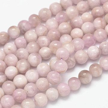 10mm Round Kunzite Beads