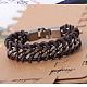 Imitation Leather Cord Bracelets(BJEW-N0011-007A)-1