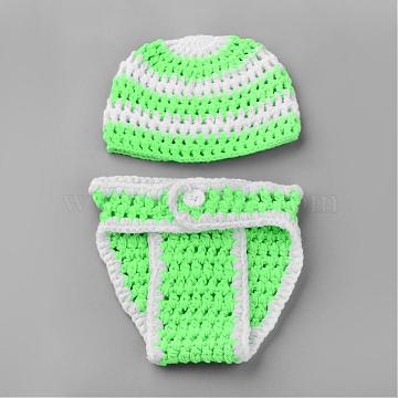 Lime Clothes Yarn Baby Garment Photography Props