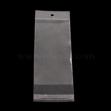 Rectangle OPP Cellophane Bags, Clear, 19.5x6cm; Unilateral Thickness: 0.035mm; Inner Measure: 14x6cm(X-OPC-R012-69)