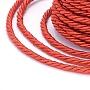 3mm OrangeRed Polyester Thread & Cord(OCOR-L041-3mm-05)
