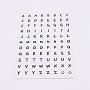 White Paper Stickers(DIY-TAC0005-58E)