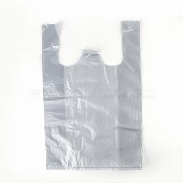 Sacs en plastique, darkgray, 40x25cm; épaisseur bilatérale: 0.024mm(PE-T004-04-25x40cm)