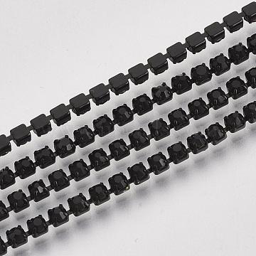 Black Brass+Rhinestone Rhinestone Chains Chain