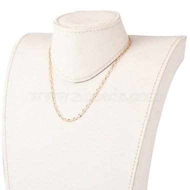 латунь кабель цепи ожерелье изготовление(NJEW-JN03164)-4