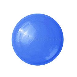aimants de bureau, aimants ronds pour réfrigérateur, pour tableaux blancs, casiers et réfrigérateur, bleu, 29x9.5 mm(AJEW-E043-01A-03)