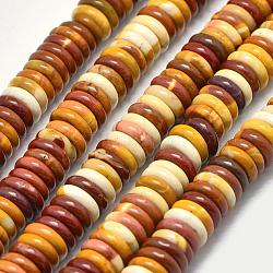 "Mookaite naturel brins de perles de heishi, disque / plat rond, 10x2mm, trou: 1mm; environ 130 pcs/chapelet, 14.76""(G-K208-27-10mm)"
