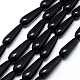 Natural Obsidian Beads Strands(X-G-F518-15)-1