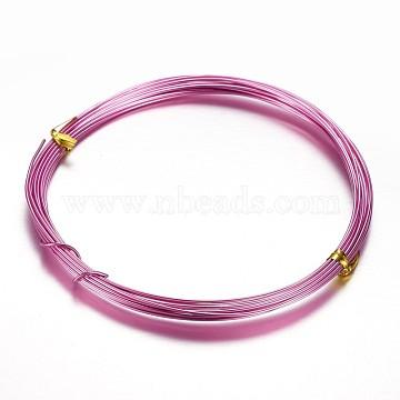 1mm DeepPink Aluminum Wire