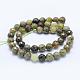Natural Green Garnet Beads Strands(G-J373-20-8mm)-3
