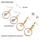 SUNNYCLUE&reg Alloy Stud Earrings and Dangle Earrings(EJEW-SC0001-07MG)-3